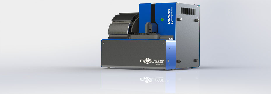 automatic OSL reader for myOSL dosimeter based on BeO berillium oxide