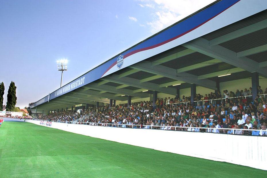 Stadion, Wiener Neustadt, Österreich