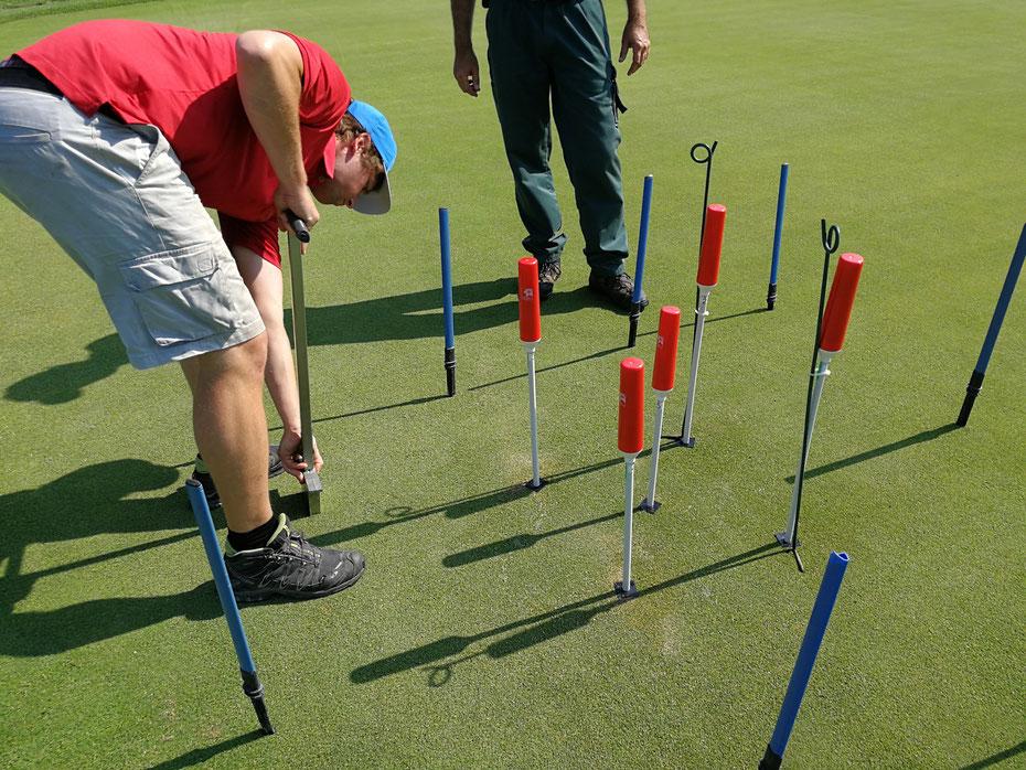 PlantCare IoT Sensor Monitoring Golfplatz Schweiz