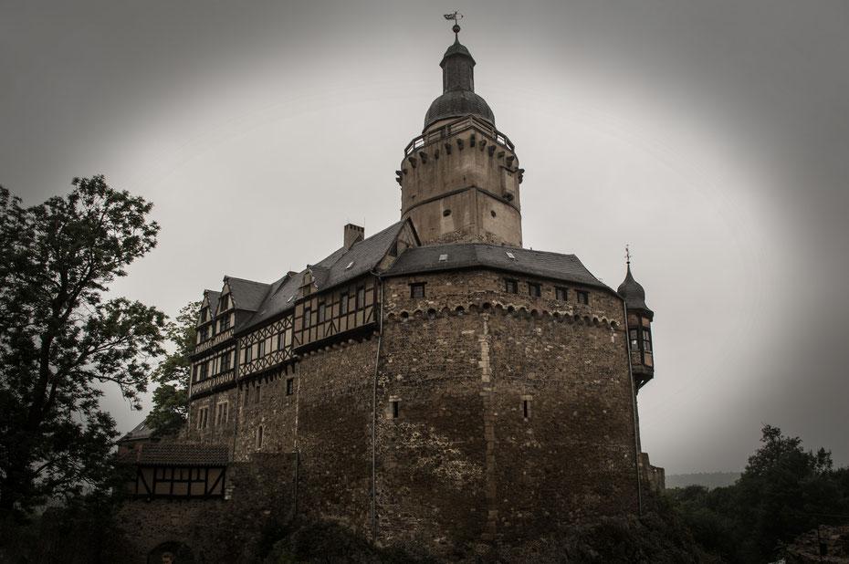 Burg Falkenstein ... Wahnsinn, oder?