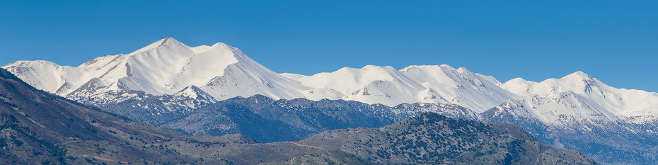 Weiße Berge (Lefka ori) in Westkreta, Februar
