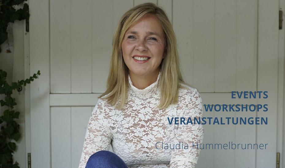 Claudia Hummelbrunner, Events, Workshop, Frau, blond, lachend