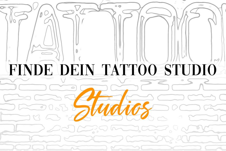 Tattoo Piercing Studio Deutschland suchen finden Übersicht