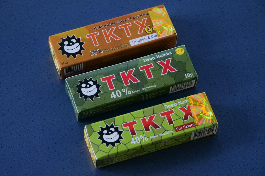 TKTX  Salbe Hologramm