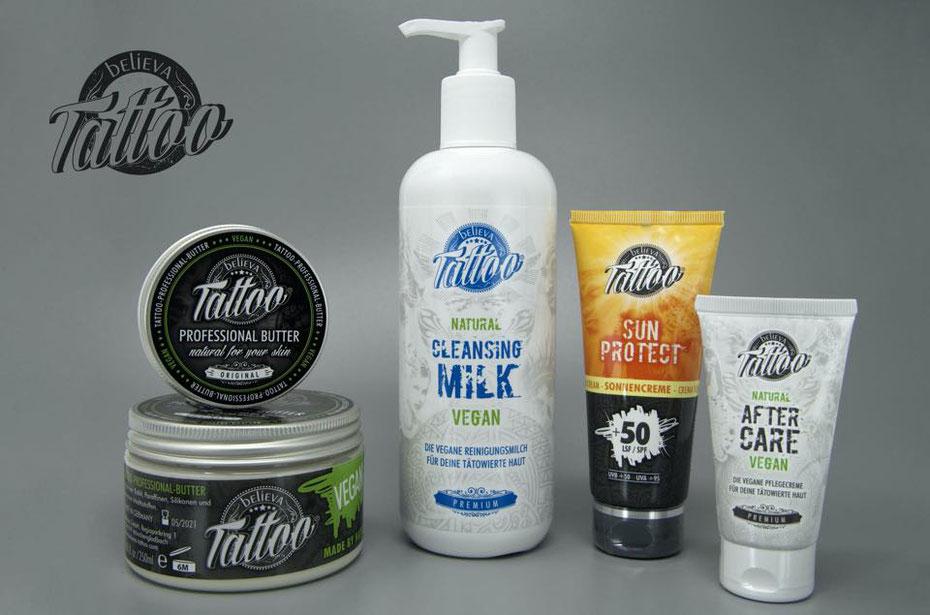 Believa Tattoo Produkte