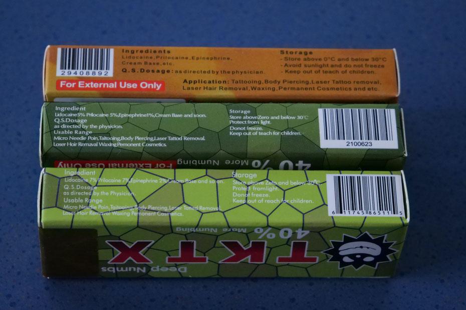 TKTX  Salbe EAN
