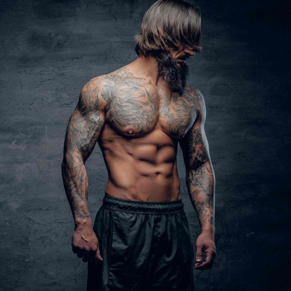 Tattoo Pflege für Männer