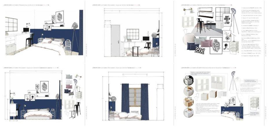 Coaching déco Uriage par La Déco d'Hélo, conseil en décoration d'intérieur basé à Grenoble (38).