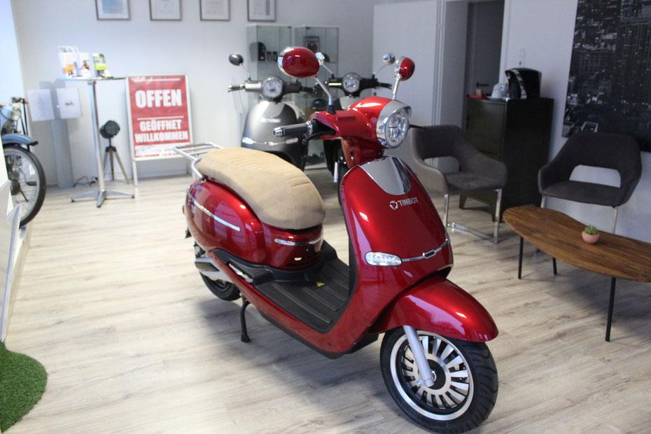E Roller Store Shop Heppenheim Motorrad Mofa Scooter elektro Bergstraße