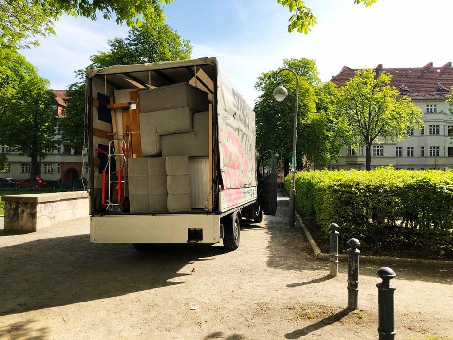 Der Umzugshelfer ist in ganz Berlin unterwegs