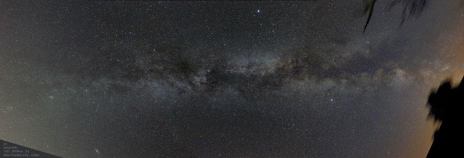Milchstraßen Pannorama Juli 2019