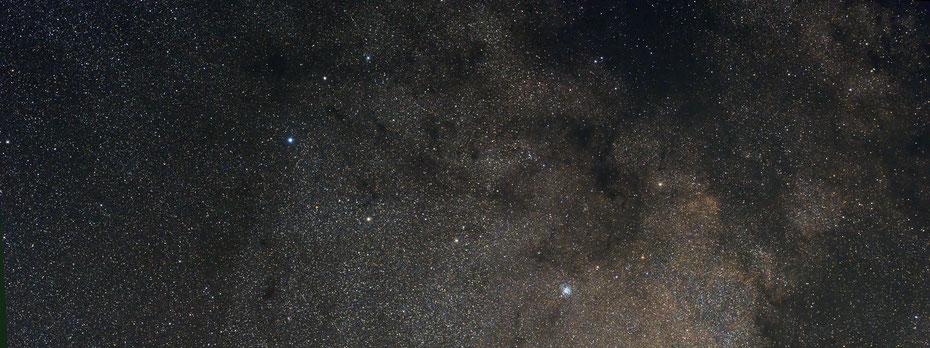 Sternbild Schild mit M 11