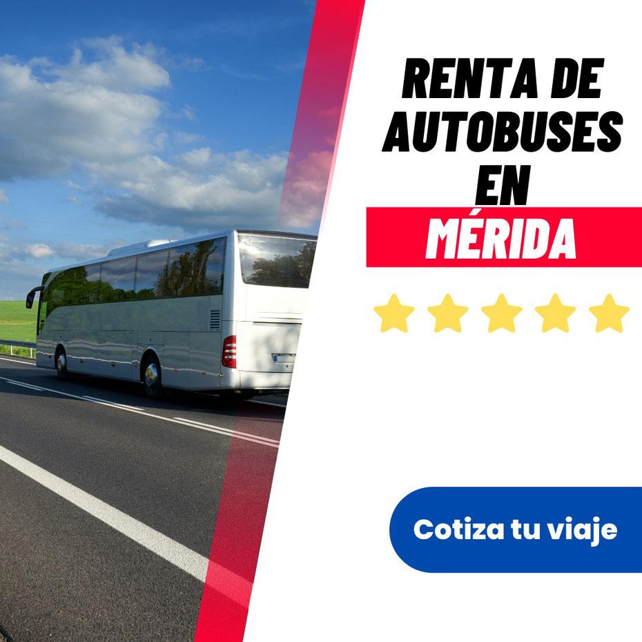 Renta de autobuses en Merida