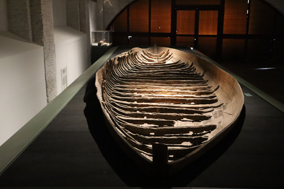 """Nave """"I"""", V sec. d.C. - Museo delle Navi di Pisa"""