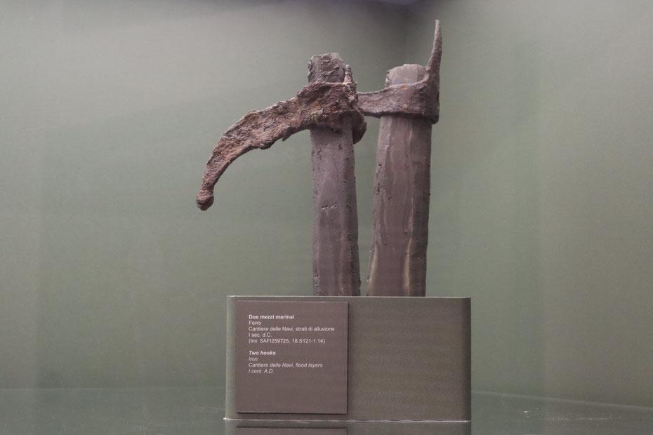 Mezzomarinaio, I sec. d.C. - Museo delle Navi Antiche di Pisa