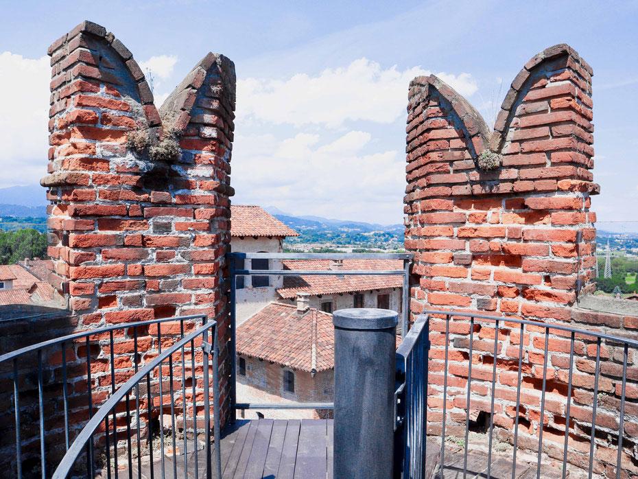 In cima alla Torre Porta, Ricetto di Candelo (Biella) - Foto Gloria Carraro