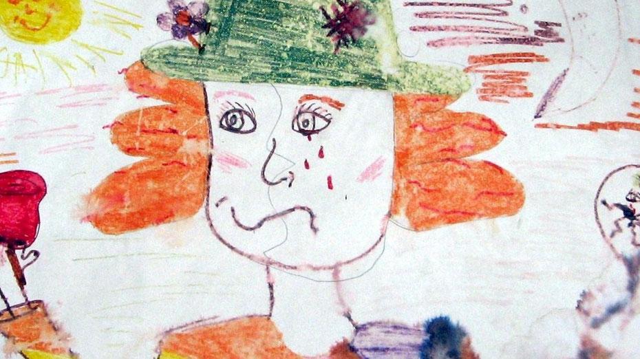 Bild von Rubin, Lars Wolfs Tochter, 2004, 10 Jahre alt.