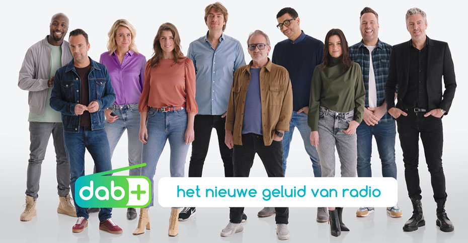 Animateurs des radios nationales aux Pays-Bas. Image: Digital Radio NL