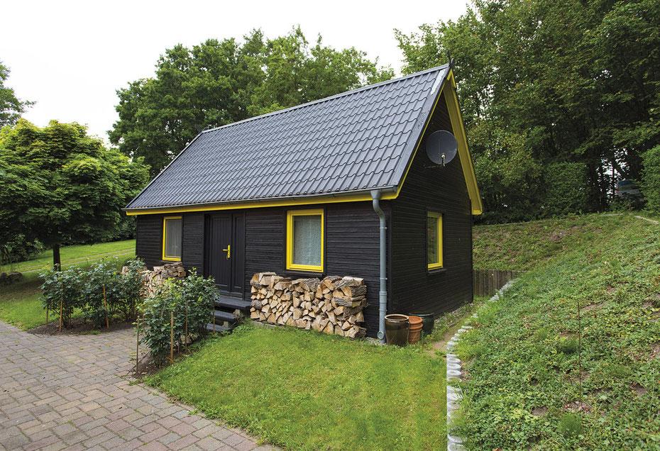 Ferienhaus Grüning, das Holzhaus