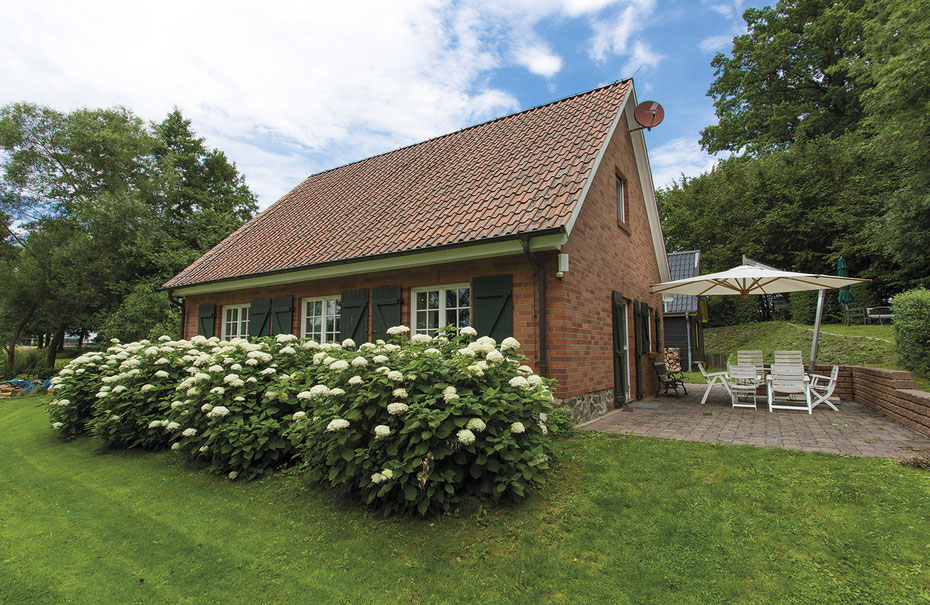 Ferienhaus Grüning - Hausansicht 01