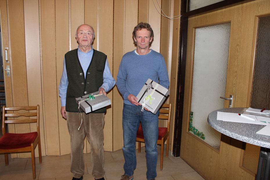 von links: Heinrich Lesinski und Torsten Eichwald