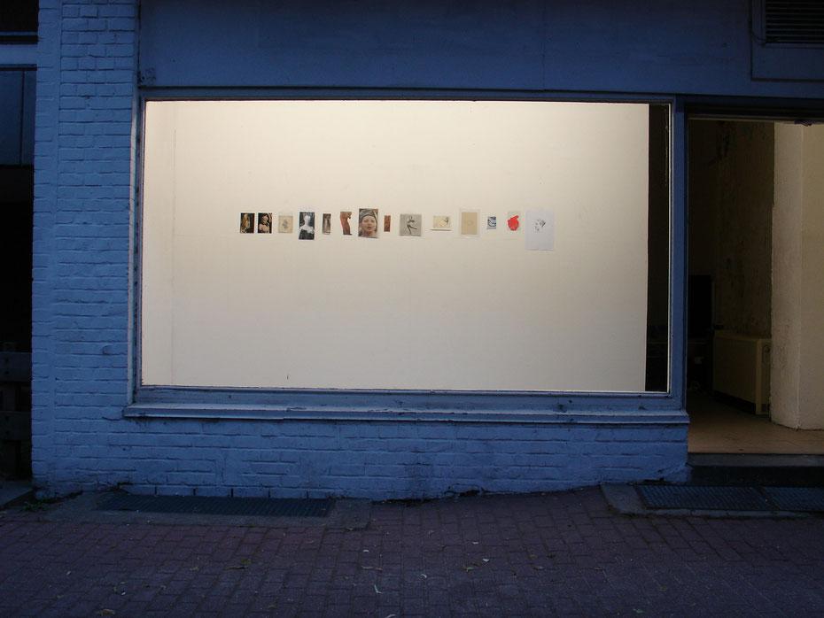 Gegen die Folgen innerer Verstimmtheit, Trottoir, Hamburg 2005, trottoir-hh.de/ausstellungen/benjamin-metzger.html