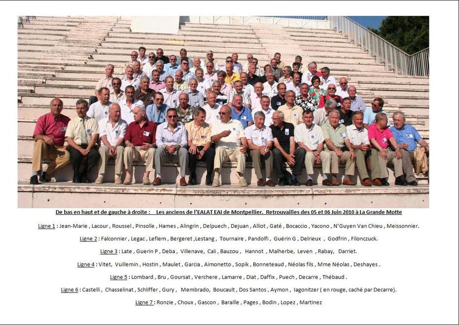Retrouvailles des anciens de l'EALAT EAI (5 et 6 juin 2010) aaalat-languedoc-roussillon.fr