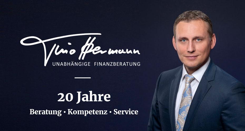 20 Jahre Tino Hermann- unabhängige Finanzberatung -