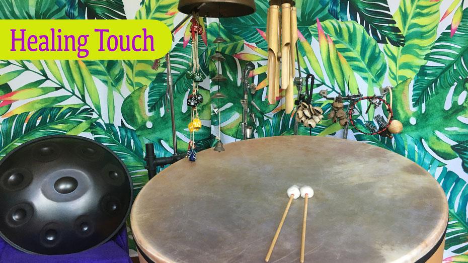 healing touch • Konzert mit Yngo Gutmann • 31.10.20 • 17-18Uhr • Trommelschule Leipzig