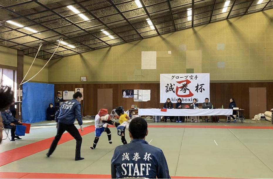 teamYAMATO奈良新大宮支部 日野輝斗 グローブ空手 誠拳杯 キックボクシング