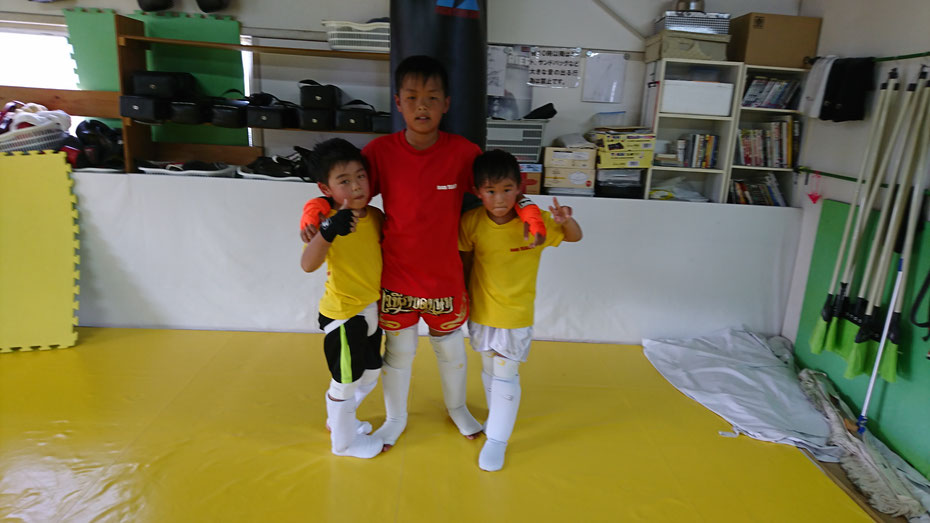 teamYAMATO大和高田本部からteamYAMATO奈良新大宮支部の練習参加。奈良でキックボクシングするならteamYAMATO。