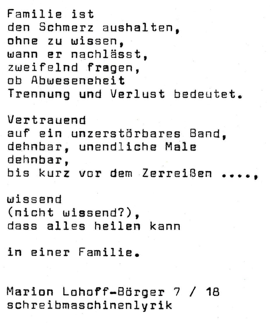 Gedichte Gedichte Gedichte Schreibmaschinenlyrik