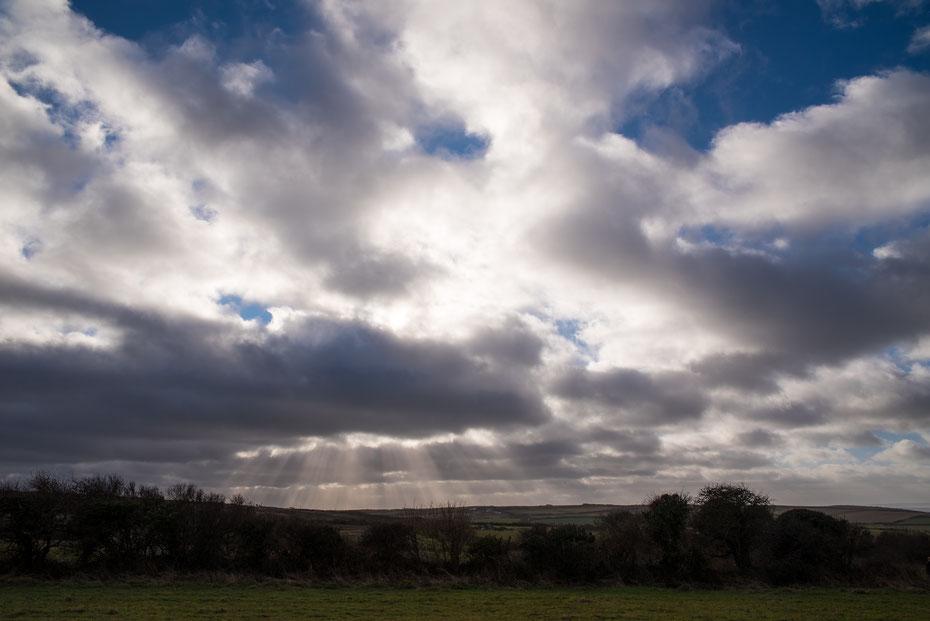 Godrays - nach einer kleineren Photopause hat mich Wales wieder für die Landschaftsphotographie begeistert. Ich glaube die endlosen grünen Wiesen geben auch im Sommer ein gutes Motiv ab...