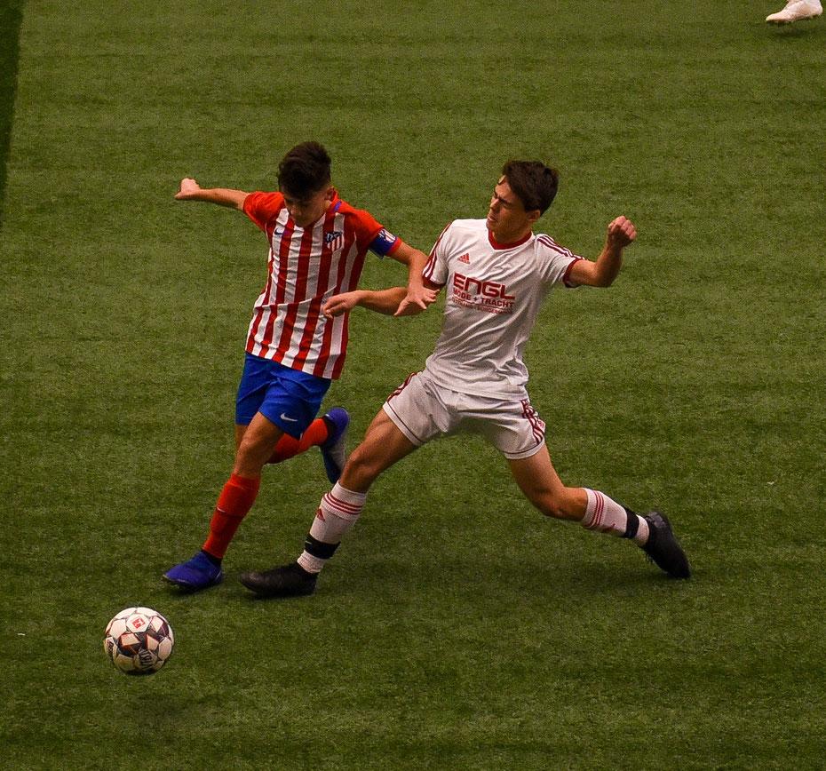 Atletico Madrid - TSV Tettnang: für die lokalen Teams ist die Teilnahme am Hallencup eine tolle Chance sich mit den besten Spielern Europas zu messen. Auch wenn die Ergebnisse das ein oder andere Mal ernüchternd ausfielen.