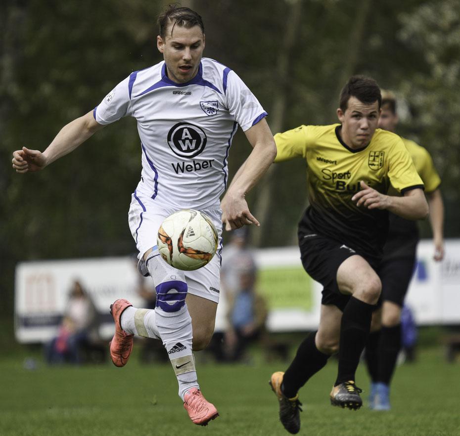 On the run - nach 14 Spielen gelang meinem SCM endlich wieder ein Sieg in der südbadischen Landesliga. Gegen den Konkurrenten im Abstiegskampf kamen die Blau-Weissen zu einem 5:2 Heimsieg. [15.04.2018]