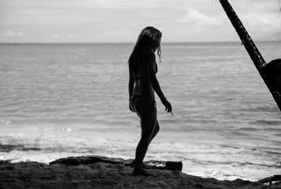 Beachgirl - Margarida am Monkey Beach auf Penang