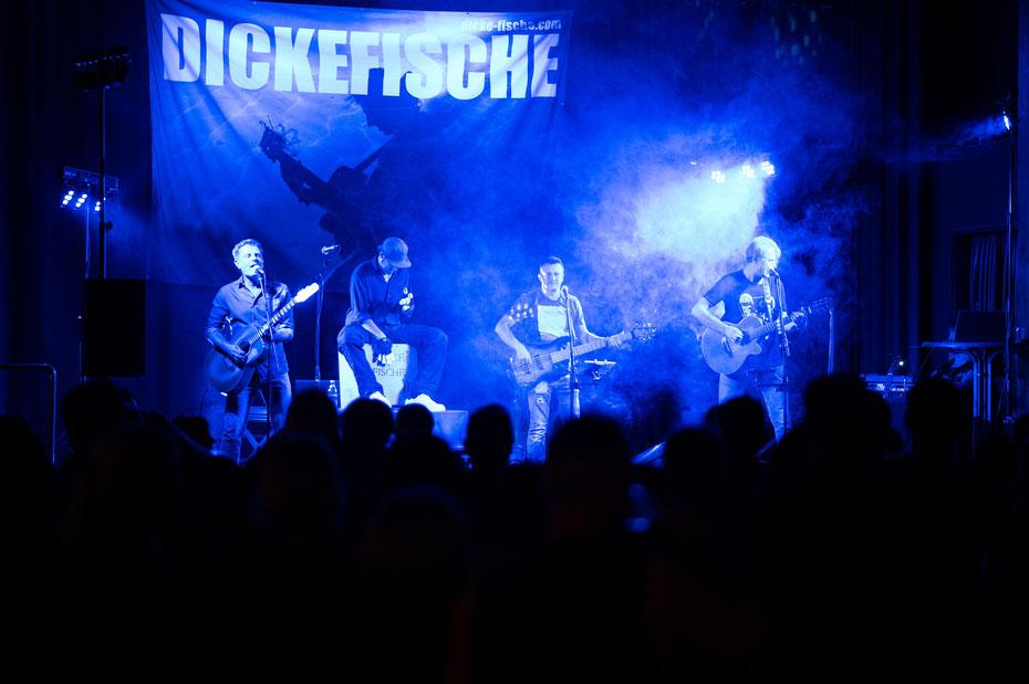 Dicke Fische live in Markdorf [09.11.2019] - ich freu mich schon auf die Neuauflage bei der nächsten Rocknacht!