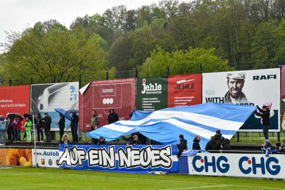 Nicht ganz geklappt hat es mit der Verteidigung des württembergischen Pokals für den FV Ravensburg. Im Halbfinale war vor heimischen Publikum gegen den Traditionsclub Stuttgarter Kickers nichts zu holen.