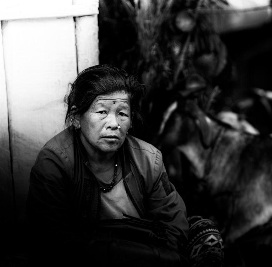 Nepali Portrait.