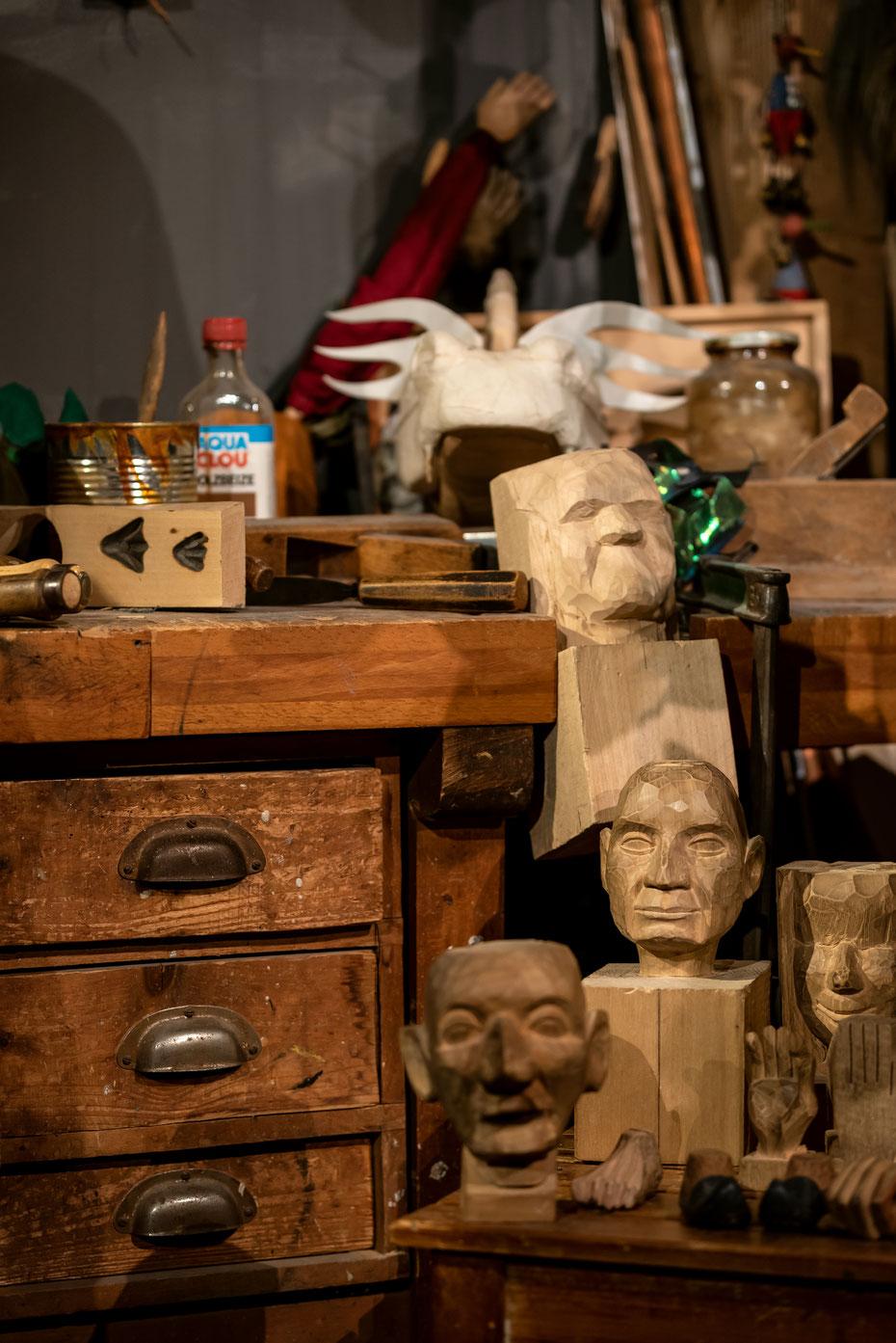 Auf der Werkbank von Hannelore Oehmichen entstanden über 6.000 der weltbekannten Puppen für die Augsburger Puppenkiste. Das Museum im Heilig Geist Spital lädt große und kleine Fans ein.