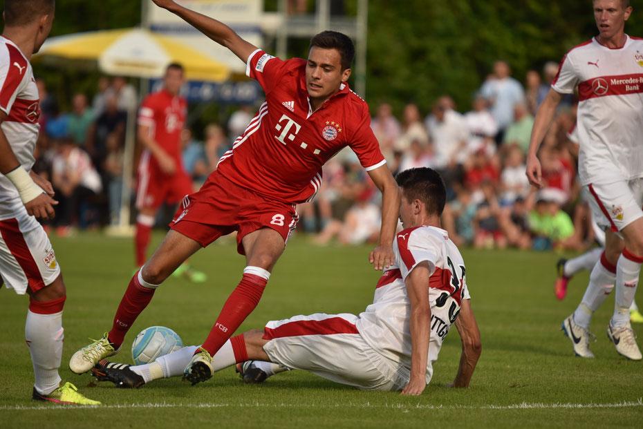 VfB Stuttgart II - FC Bayern München II 0:1 [Pre Season Friendly Match 2016/2017]