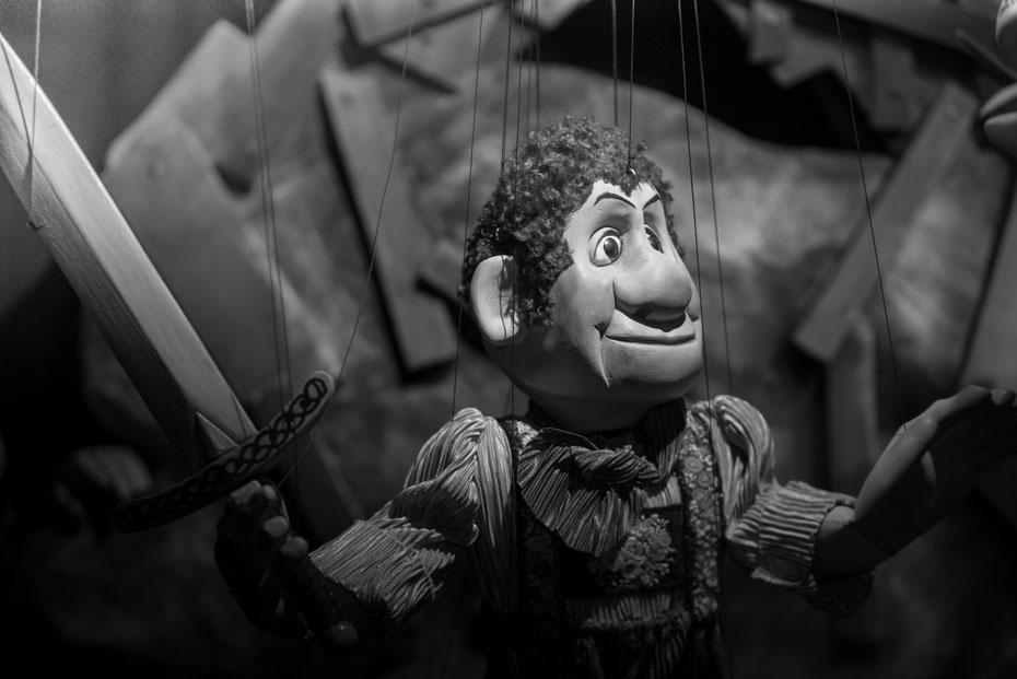 Siegfried der Drachentöter - auch der berühmteste Deutsche findet seinen Platz in der Puppenkiste. Die Nibelungen wurden in einer verkürzten Fassung aufgeführt.