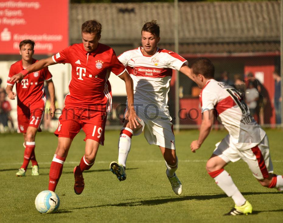VfB Stuttgart II - FC Bayern München II 0:1 [Pre Season Friendly Match 2016/2017, Häldelestadion Fronhofen]