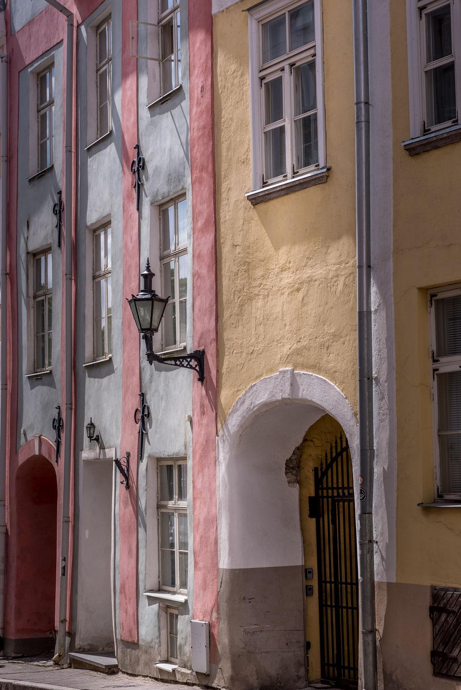 In den engen Altstadtgassen von Tallinn kann man viele Stunden verbringen. Photomotive gibt's sowieso an jeder Ecke!