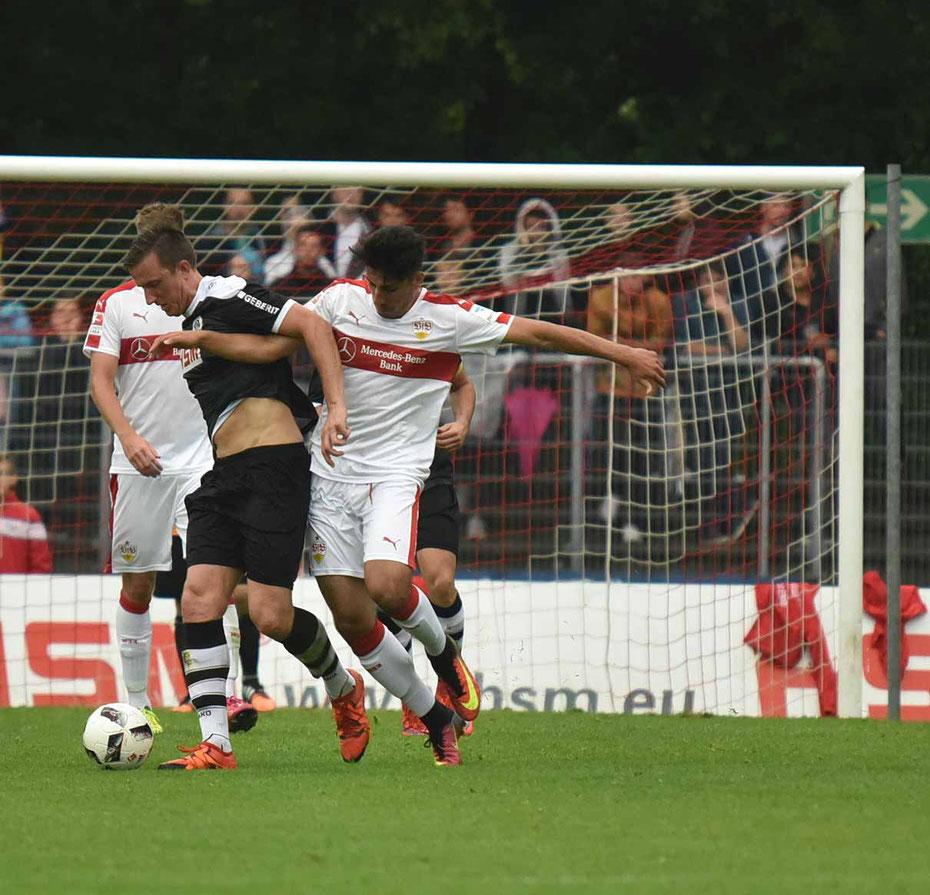 SC Pfullendorf - VfB Stuttgart 0:9 [Waldstadion Pfullendorf, Pre Season Friendly Match 2016/2017]