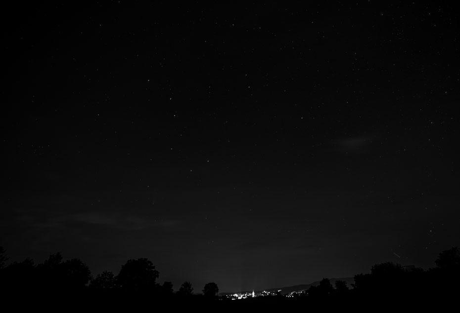 Neowise black/white - unter dem großen Wagen ist der Kometenschweif dann doch noch zu sehen. Viel Spaß beim suchen ;-) [23-07-2020]