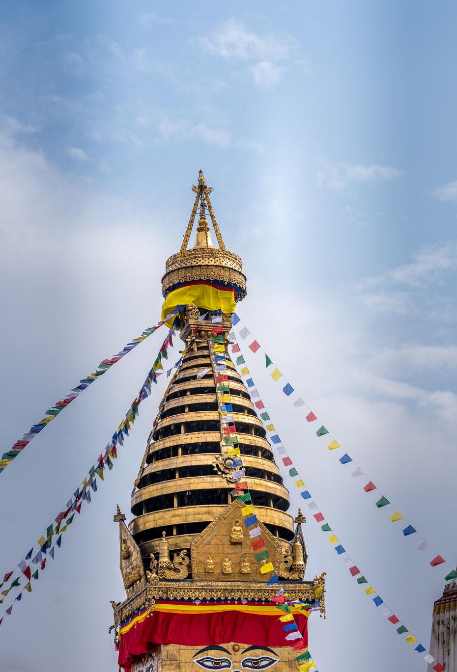 Die buddhistischen Stupas faszinieren mich immer wieder auf's neue!