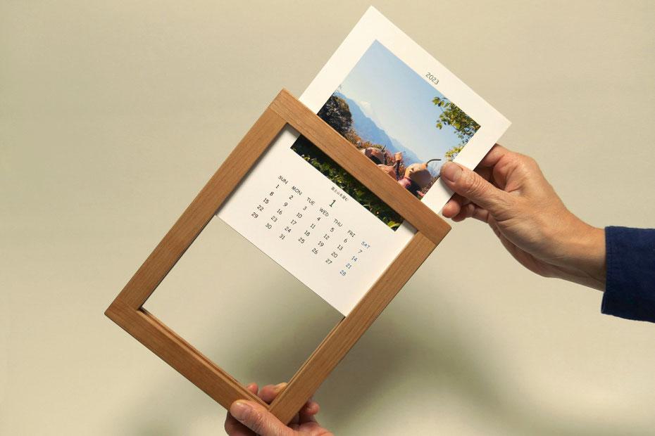 ひょうたんビトカレンダー(フレーム付き)