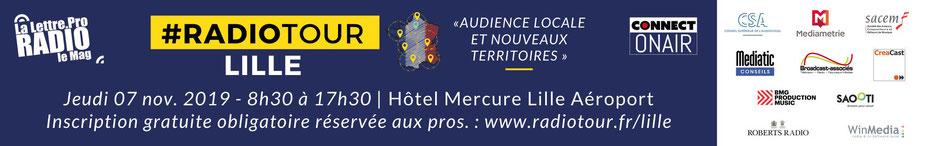 Radiotour à Lille, #RADIOTOUR, #DABplusFR, #DABradio, #SalonRadio, #DABradio, #DABplus