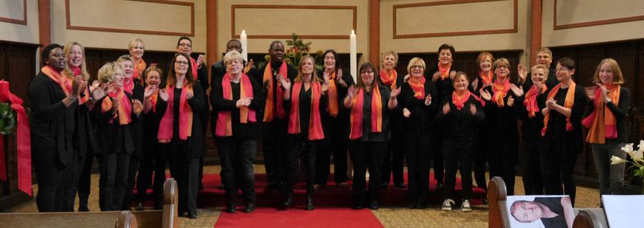 Sing on - Gospelchor Neuwied im Gottesdienst am 1. Advent 2015 in der Neuwieder Marktkirche